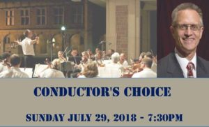Conductor's Choice @ Brookings Quadrangle